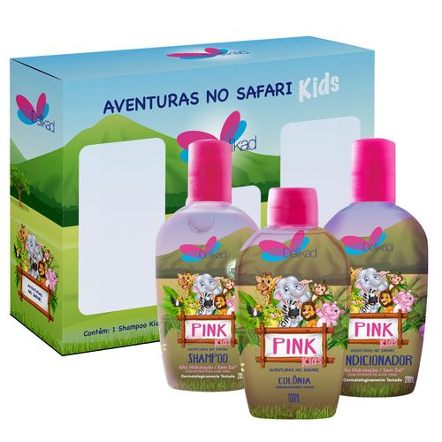 91398-kit-delikad-kids-safari-trio-pink