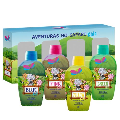 90742-quarteto-colonias-delikad-kids-safari