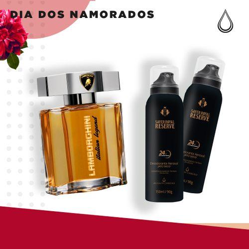 Kit-Namorados-Masculino---1-Perfume-Lamborghini---2-Desodorantes-Saver-Royal-150-ml